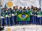 Seleção Brasileira Feminina - Campeã do Sulamericano do Uruguai
