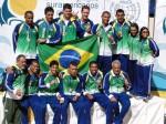 Seleção Brasileira Masculina - Campeã do Sulamericano do Uruguai