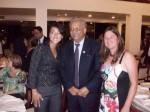 Prefeito Dr Hélio, Atleta Nacional de handebol Tatianne Yumi, Presidente da ACH Jaqueline Alves
